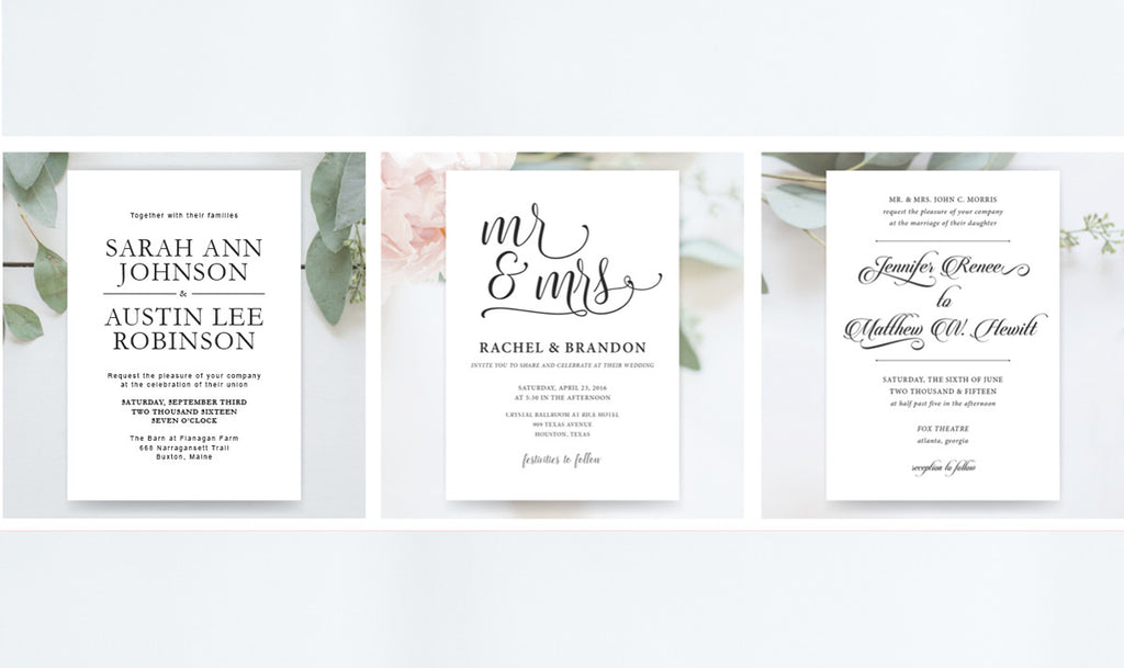 Invitation Shoppe - Custom Design