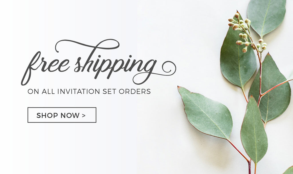 Invitation Shoppe - Free Shipping