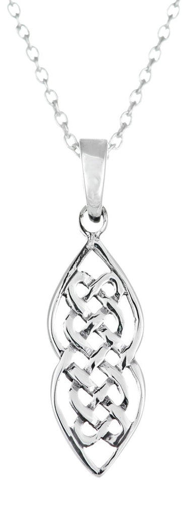 Celtic Weave Sterling Silver Pendant
