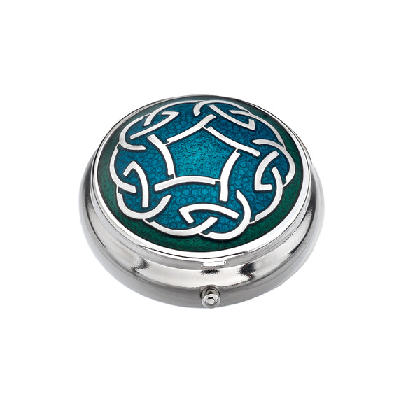 Celtic Knot Pill Box
