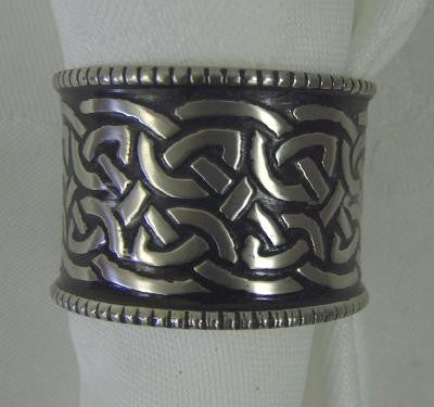 Celtic Napkin Rings - Set of 4