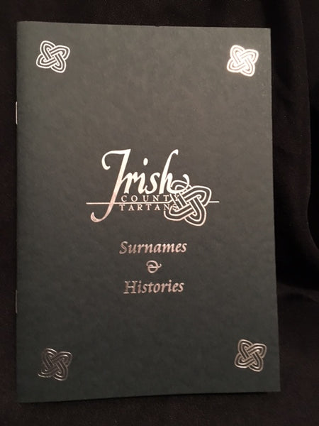 Irish County Surnames & Histories Booklet