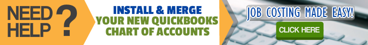 QuickBooks Chart Of Accounts Professional Installation