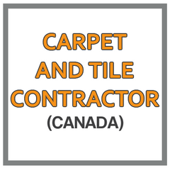 QuickBooks Chart Of Accounts For Carpet And Tile Contractor Based In Canada
