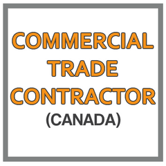 QuickBooks Chart Of Accounts For Commercial Trade Contractor Based In Canada