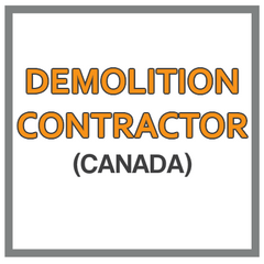 QuickBooks Chart Of Accounts For Demolition Contractor Based In Canada