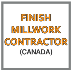 QuickBooks Chart Of Accounts For Finish Millwork Contractor Based In Canada
