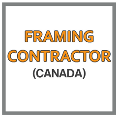 QuickBooks Chart Of Accounts For Framing Contractor Based In Canada