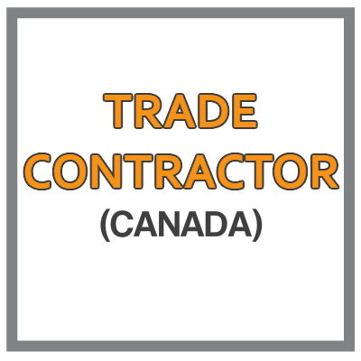 QuickBooks Chart Of Accounts For Trade Contractor Based In Canada