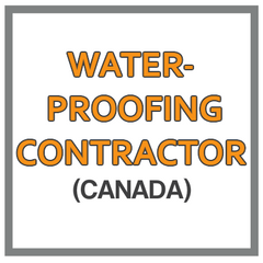 QuickBooks Chart Of Accounts For  Waterproofing Contractor Based In Canada