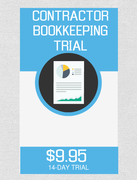 Contractor Bookkeeping Trial - Fast Easy Accounting Store