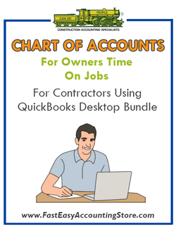 Chart Of Accounts For Officers Time On Jobs For Enhanced Job Costing Reports For Contractors Using QuickBooks Desktop