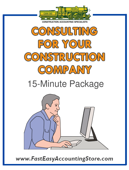 Consulting With Randal For 15 Minutes - Fast Easy Accounting Store