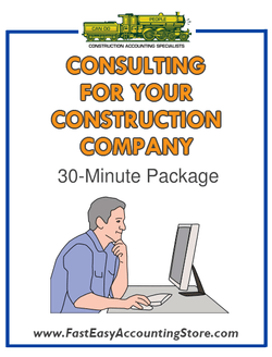 Consulting With Randal For 30 Minutes The Contractors Accountant At Fast Easy Accounting
