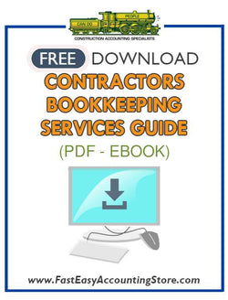 Free Contractors Bookkeeping Services Guide