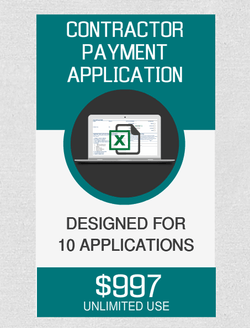 Contractor Payment (10) Applications - Fast Easy Accounting Store