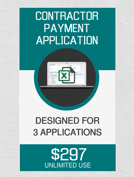Contractor Payment (3) Applications - Fast Easy Accounting Store