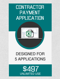 Contractor Payment (5) Applications - Fast Easy Accounting Store