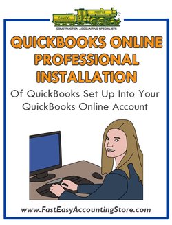 .Professional Installation Of QuickBooks Setup Template Into QuickBooks Online