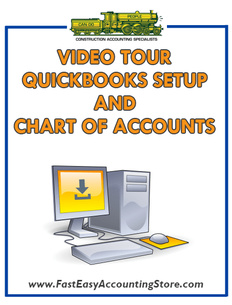 QuickBooks Chart Of Accounts And QuickBooks Templates Video Tour - Fast Easy Accounting Store
