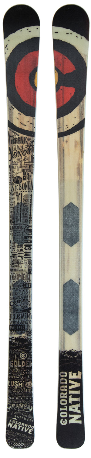 Colorado Native Limited Edition Skis
