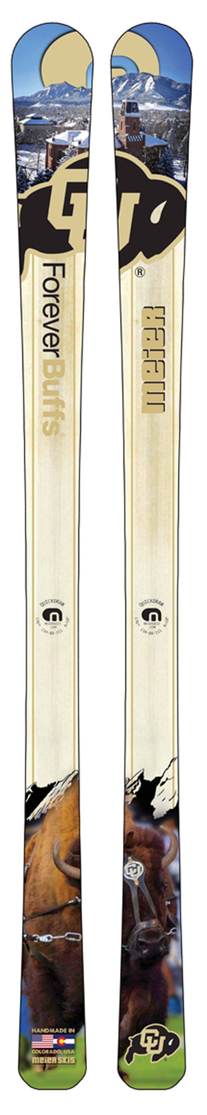 University of Colorado Custom Ski