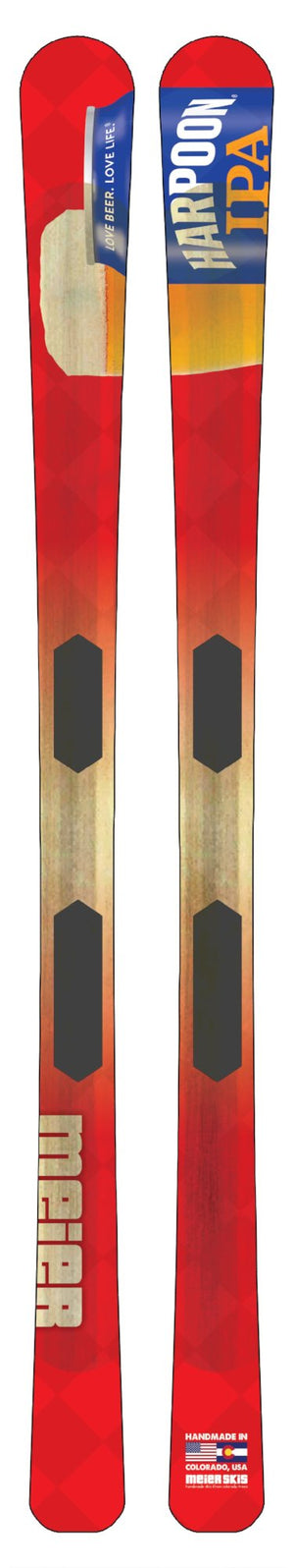Harpoon Brewery Custom Skis