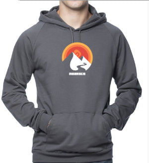 Mountain Sun Unisex Organic Cotton Hoody