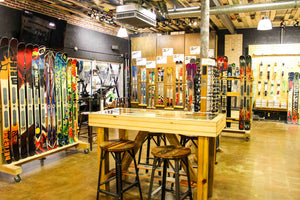 Book a Ski or Boot Shopping Reservation