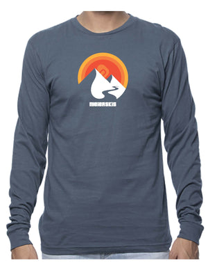Mountain Sun Long Sleeve Cotton Tee
