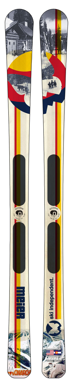 20-21 Monarch Mountain Custom Ski