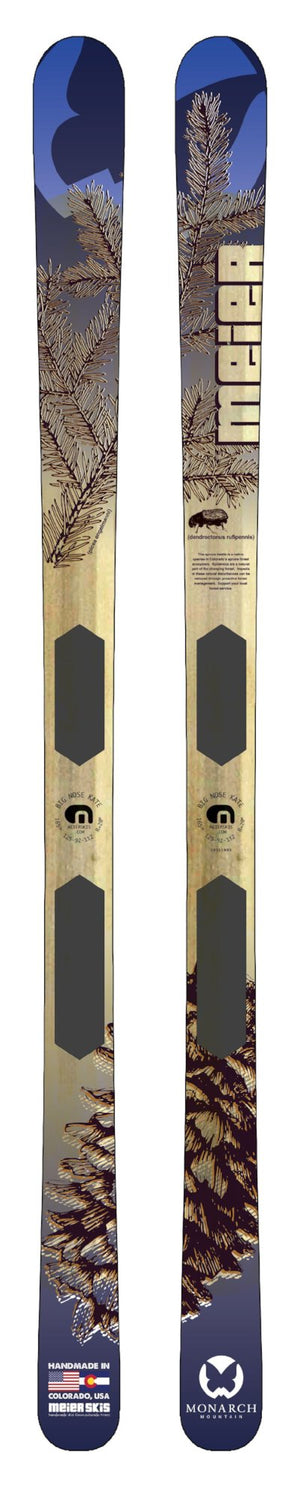 Monarch Mountain Custom Ski