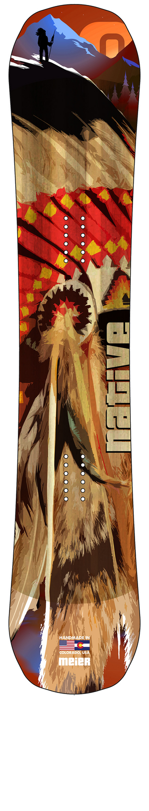 The Native Snowboard
