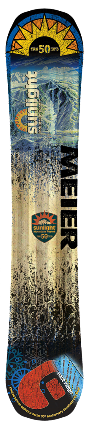 Sunlight 50th Anniversary Snowboard