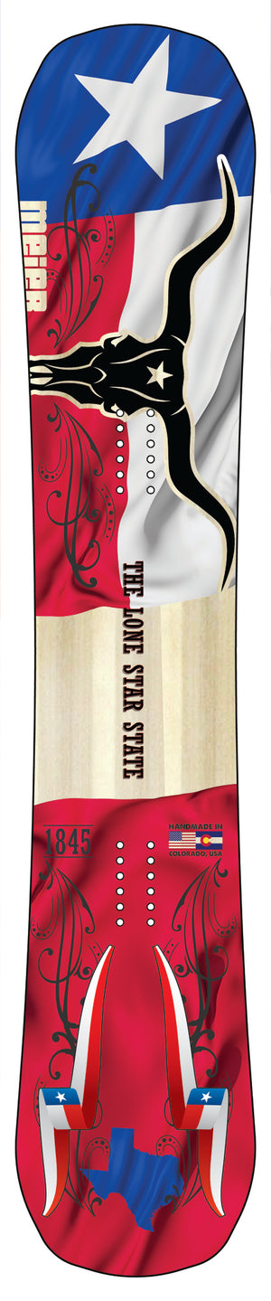 Texas Lone Star Limited Edition Snowboard
