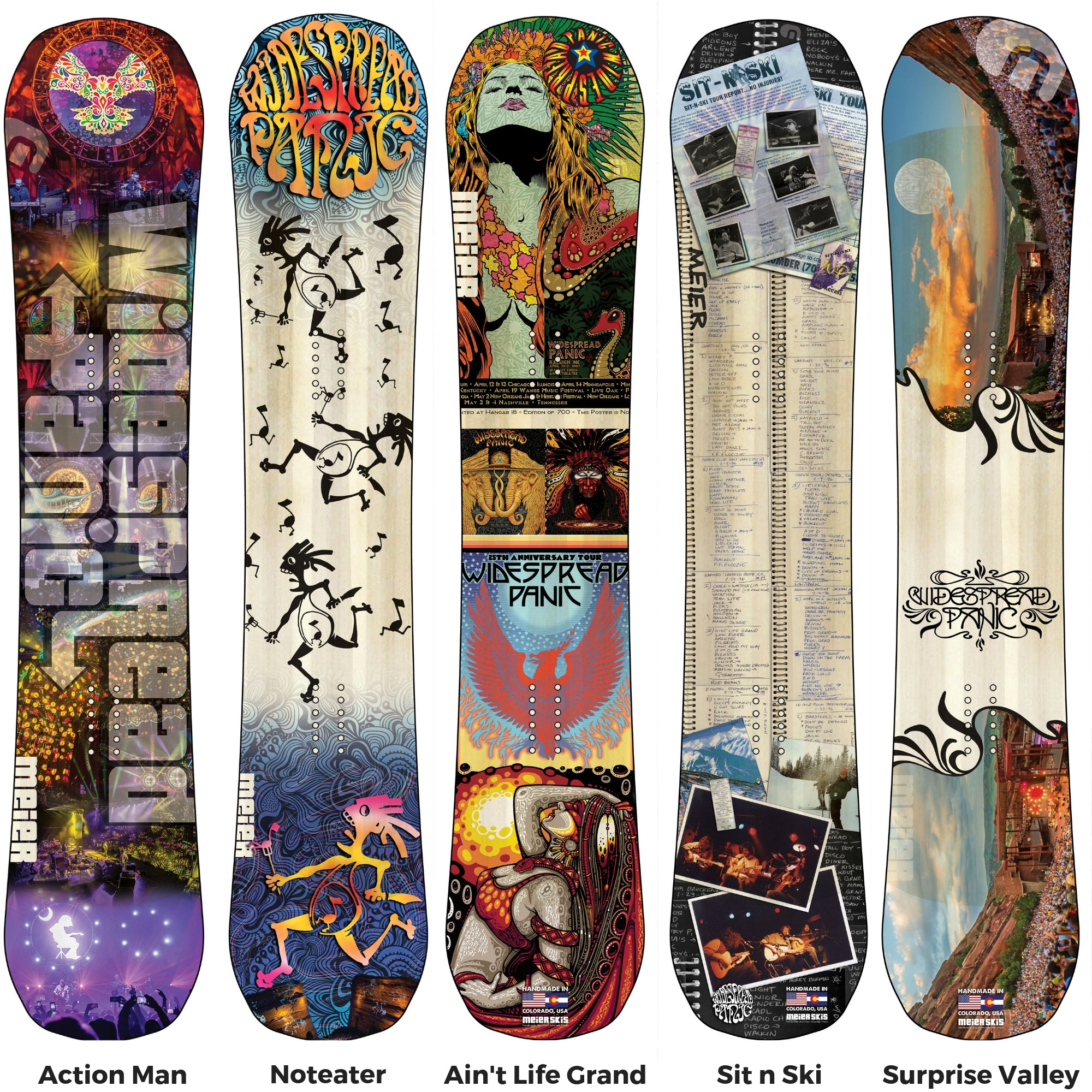 f61ce15a0ad Widespread Panic Collection - Meier Skis