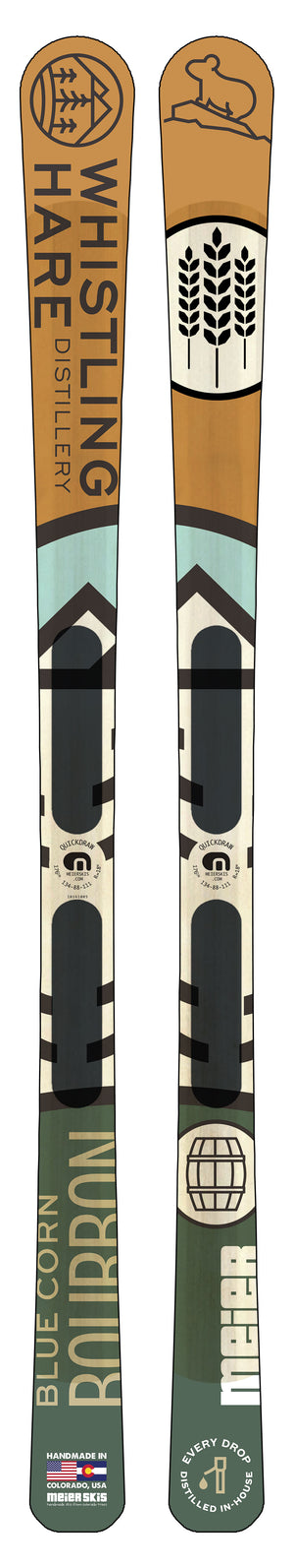 Whistling Hare Custom Ski