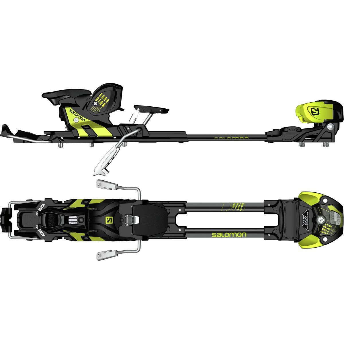 Poles And Bindings From Meier Skis