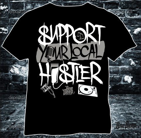 SUPPORT YOUR LOCAL HUSTLER