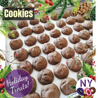 Holiday Treats - Chocolate Chip Cookies (about 40pcs) - 300g