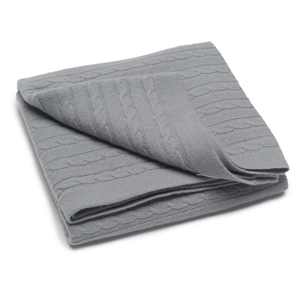 Luxury Super Large & Soft 100% Cashmere Baby Blanket - Baby Gray * eco-friendly