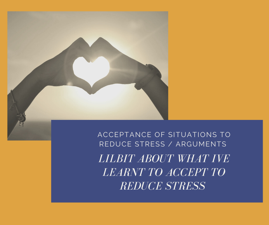 Join me for a chat about ACCEPTANCE