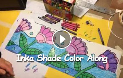 Anne Manera's Inka Shade Color Along
