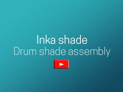 Inka Shade Drum Shade Assembly Video