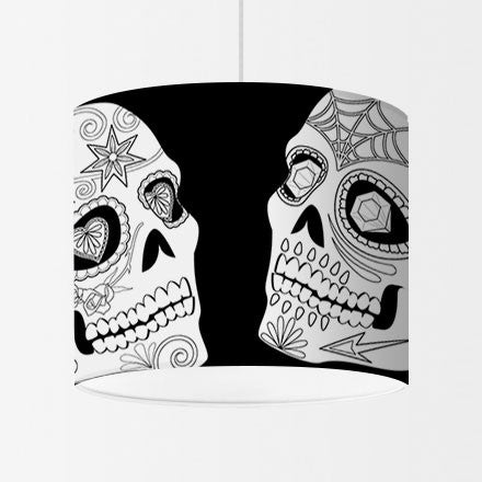 Calavera - Sugar Skulls on Black
