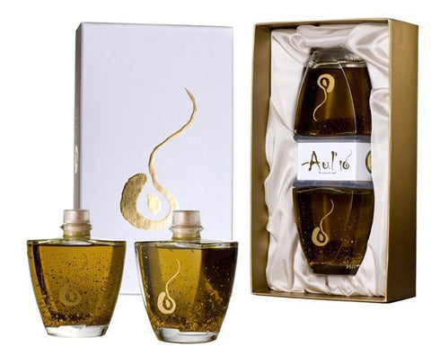 Premium Olive Oil with Edible Gold Flakes