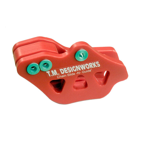 TE/TC/TXC250-449/511/610/630 Chain Guide (RED) #RCG-HUQ-RD