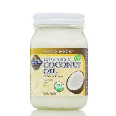 Garden of Life Extra Virgin Coconut Oil 16 oz