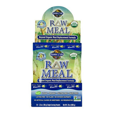 Garden of Life Organic Vanilla RAW Meal Replacement 3oz