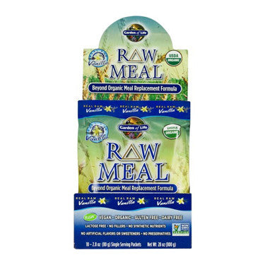 Garden of Life Organic Vanilla RAW Meal Replacement 10/3oz